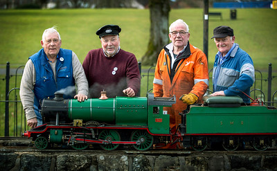 Strathaven Miniature Railway preparing for this year's 70th anniversary celebrations .