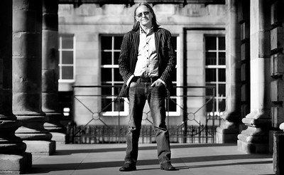 Singer / Songwriter Dougie MacLean pictured at St Andrew's Square.