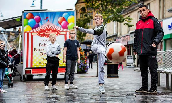 Coatbridge Summer  Festival , Coatbridge town centre .