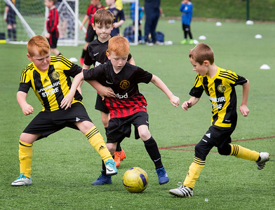 CaulderBraes Football Festival , Coatbridge .