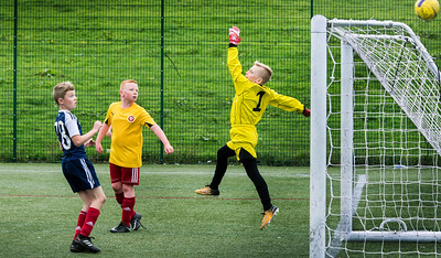 CaulderBraes Football Festival , Coatbridge .