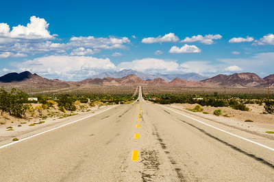 Route 66 Across the Mojave