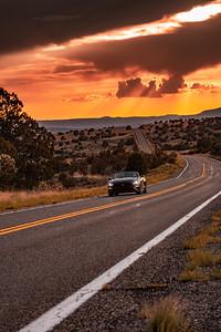 Crooktown Road 66 Sunset