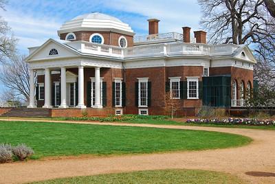 Monticello back view