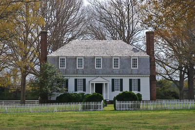 House where terms of surrender to Gen. Washington were agreed to.