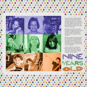 Nine Years Old
