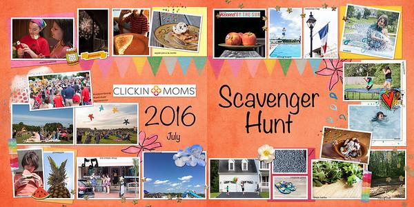 Clickinmoms 2016 Scavenger Hunt
