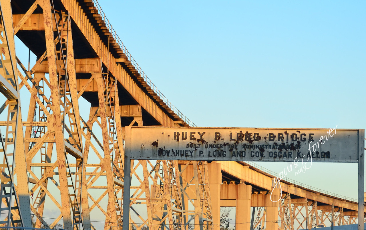 Huey P Long Bridge, 3 months before torn down