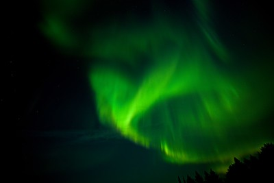 Aurora taken from Church Road at Laclu