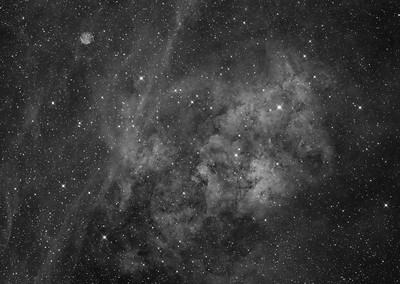 Sh2-115 and Abell 71 in Cygnus