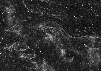 The Veil Nebula - Nebulosity besides the Witches Broom
