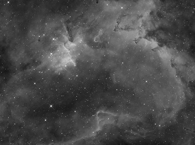 Melotte 15 / ic1805 in Cassiopeia