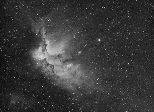 NGC7380 - The Wizard Nebula in Cepheus