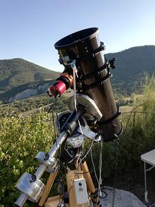 Astro imaging field trip summer 2019