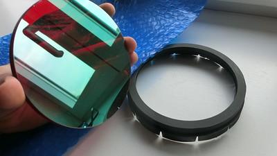 Baader ERF filter with homemade filterholder