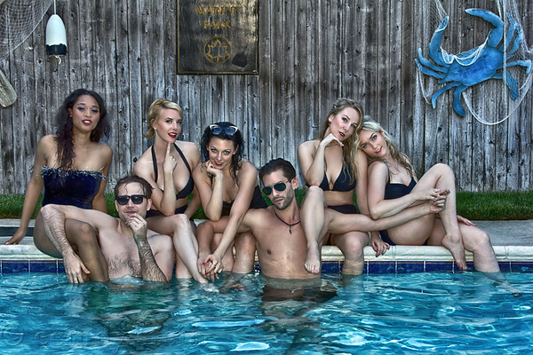playboy mansion pool party