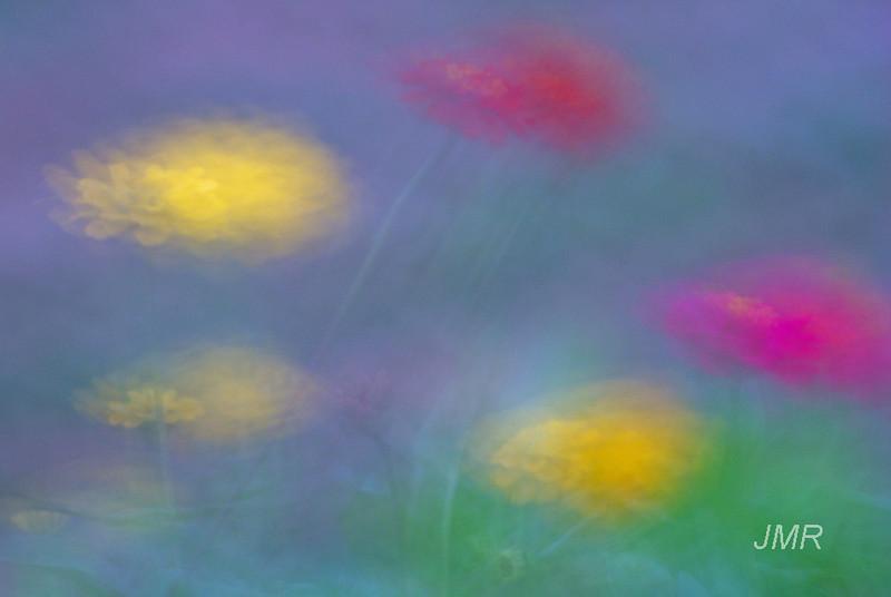 undulating flowers