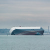20150104 Hoegh Osaka - Beached on Bramble Bank