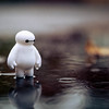 20151106 Baymax in the Rain