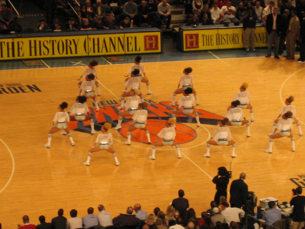 APRIL 17, 2006<br /> <br /> Tonight a group of us went to the Knicks game.  It was their last game of the season and in true 2006 Knicks fashion, they lost.  However, we had a blast.  At halftime there was a kids talent competition...and during the commercials, dancers danced, drummers drummed and kids did back flips. We had hot dogs, cotton candy and great conversation.  Good fun!