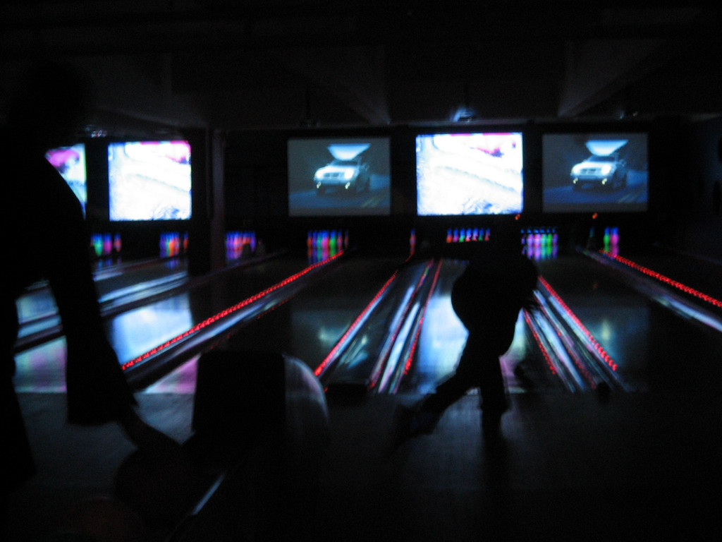 APRIL 21, 2006<br /> <br /> The Great Google-Off resulted in a very close win by me.  Then we went bowling.  It was a strike.