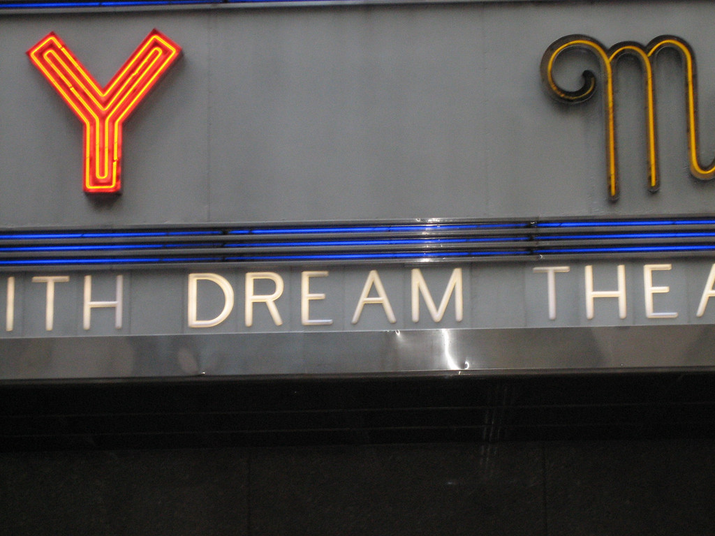 This was on the marquee of Radio City.  I think it's self-explanatory.