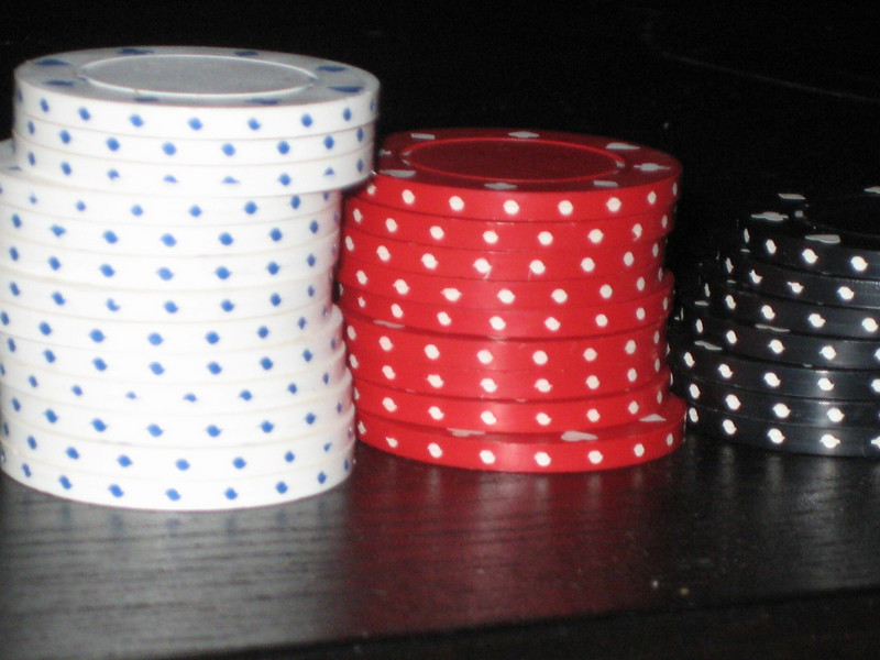 FEBRUARY 23, 2007<br /> <br /> oops...forgot to download the 22nd.  I'll do that tonight.<br /> <br /> Poker Night!  I did NOT end up with this many chips.  The men took the winnings home tonight.