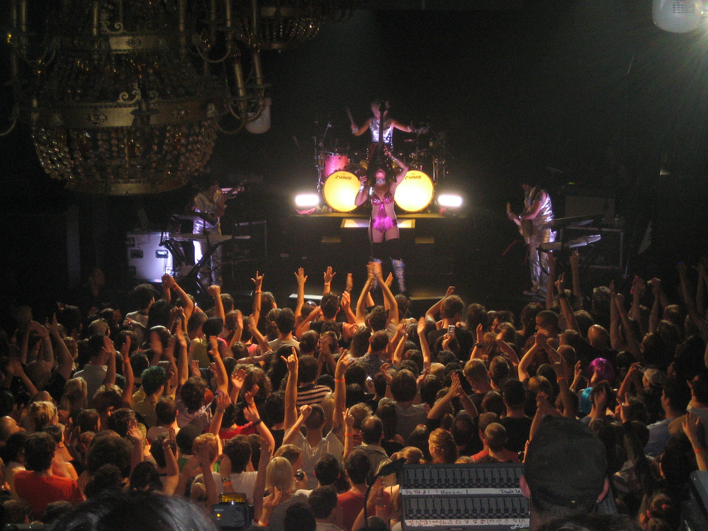 JULY 22, 2006<br /> <br /> The Peaches concert at Irving Plaza.  It was a GREAT show.  If you ever get a chance to see this wild woman perform, do.  She's amazing.