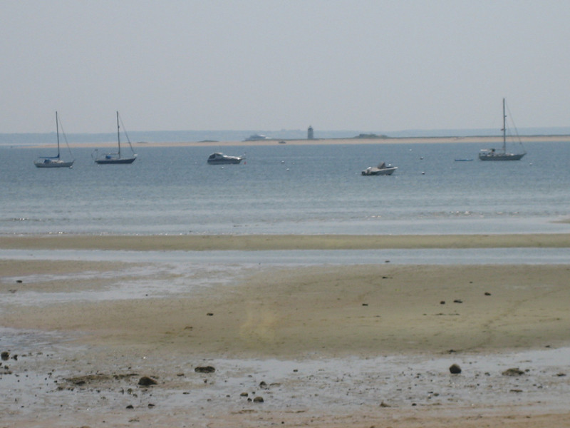 JULY 1, 2006<br /> <br /> Our last day in Provincetown.  We ate our bagels overlooking this spot.  It was lowtide.