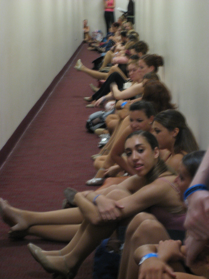 JUNE 1, 2006<br /> <br /> Rockette open call auditions.  Over 350 women showed up.  Only 40 were called back.