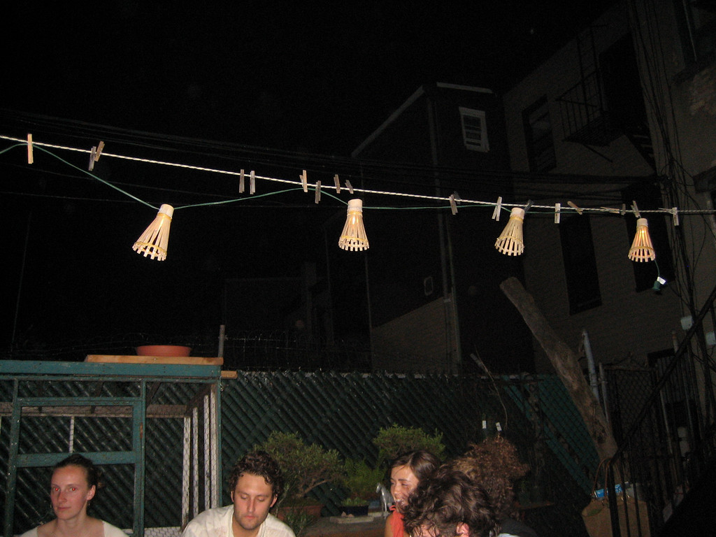 JUNE 22, 2006<br /> <br /> A BBQ out in Brooklyn on a really REALLY hot night.