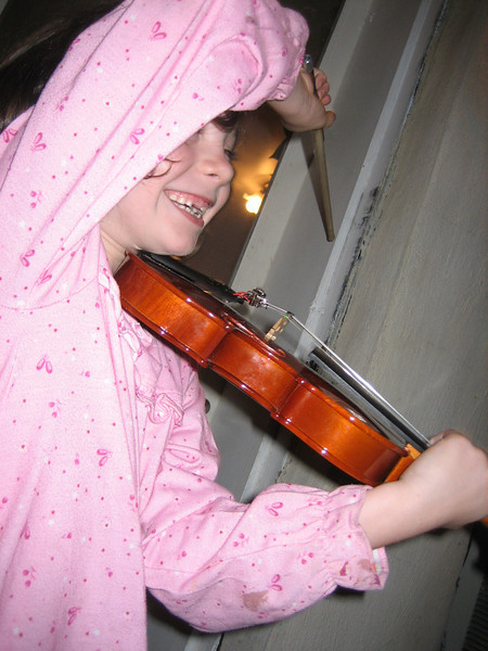 JUNE 20, 2006<br /> <br /> Mary Leigh entertained us on her violin.  Tonight we had a wonderful BBQ at the Montgomery home.