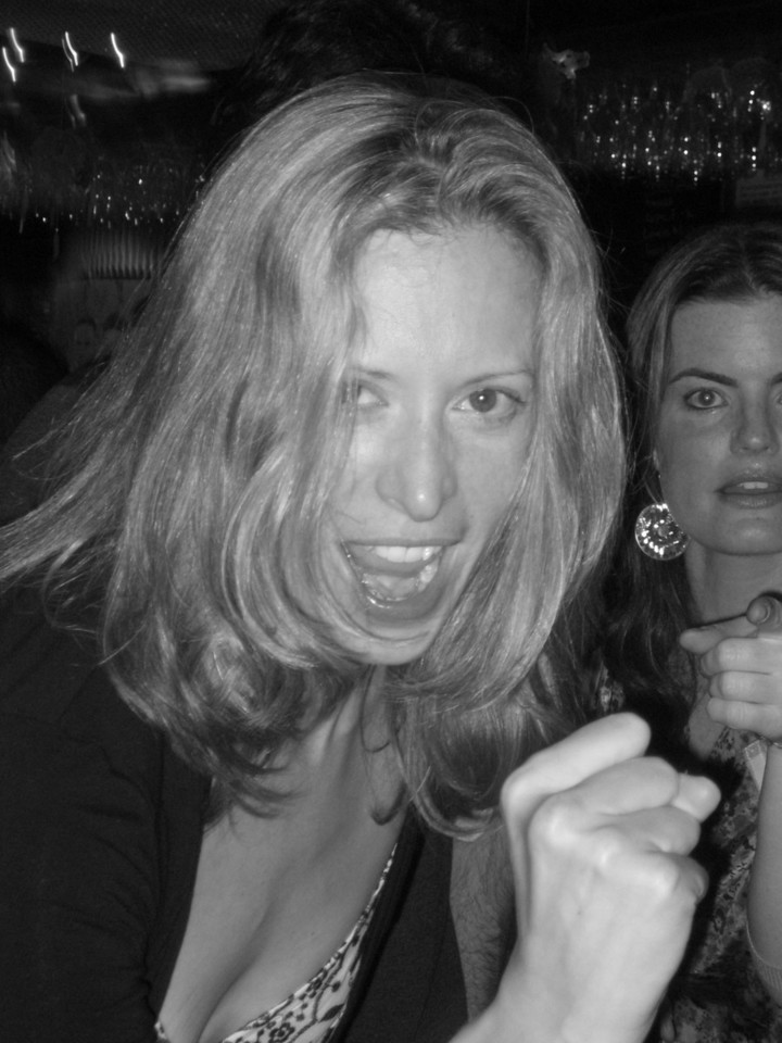 MAY 13, 2006<br /> <br /> Rita is a rockstar.  What else can I say?  We all did karaoke on Saturday night and it was great fun!  Here is Rita and Kassie rocking the house down.