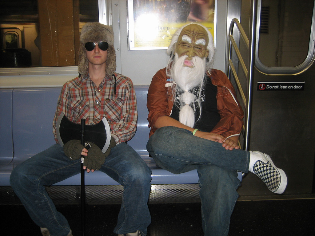 OCTOBER 31, 2006<br /> <br /> Halloween on the A Train.  Need I say more?