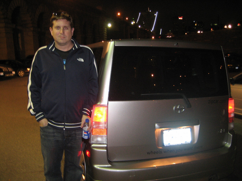 OCTOBER 1, 2006<br /> <br /> Late at night on Saturday, early in the morn on Sunday when we returned our Zipcar...