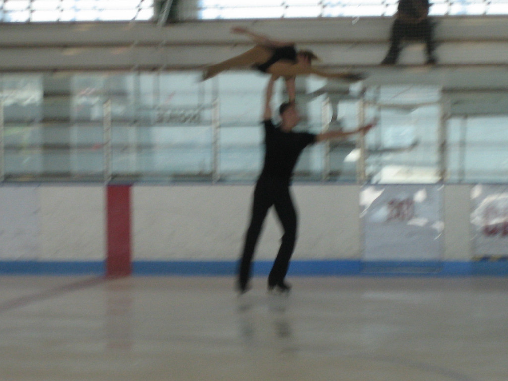 SEPTEMBER 7, 2006<br /> <br /> Today at Radio City, we auditioned the skaters at Chelsea Piers.  We hired this impressive duo.