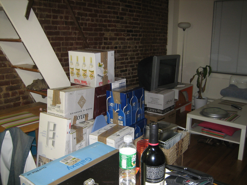 SEPTEMBER 15, 2006<br /> <br /> The night before I moved stuff out of my place on Amsterdam Avenue...