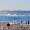 From Kirra with Gold Coast in the distance