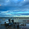 Early morning view after the rain at Melbourne airport