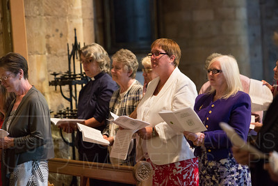 APA service Durham Cathedral