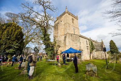 Bishop Leads The Way On Rescheduled Pilgrimage Trails