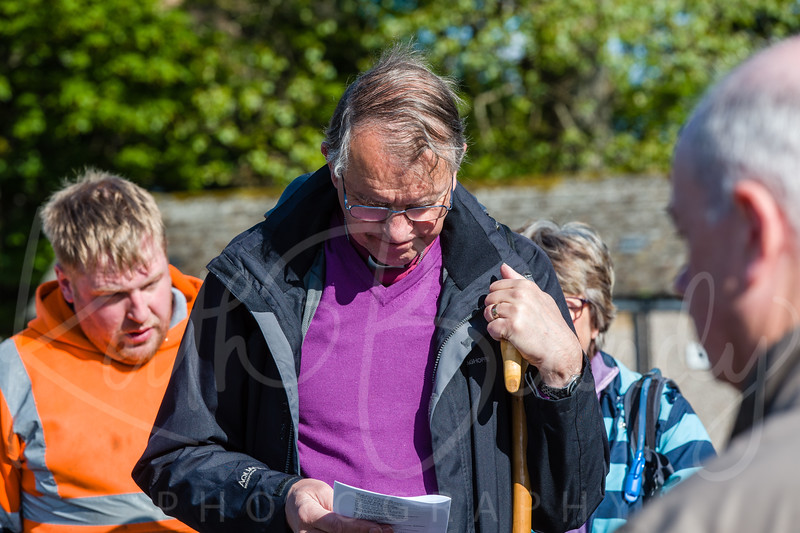 Bishop's Prayer Walk Weardale Day 1