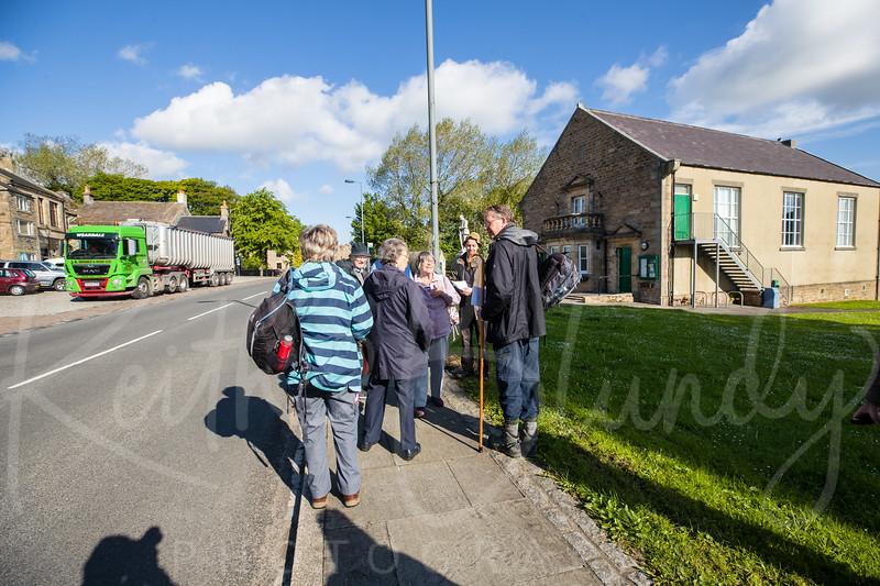 Bishop's Prayer Walk Weardale Day 1