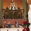 Creche in the St. Joseph's altar