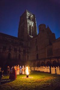 Bishop Leads Dawn Vigil