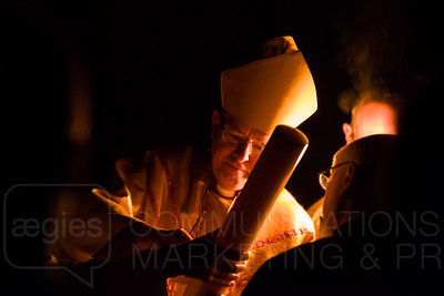Bishop Leads Dawn Vigil