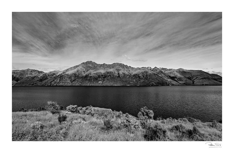 Halo lake and sky
