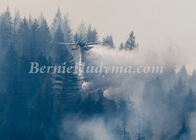 "_M173618    Float Plane ""Fireboss"" battling a forest fire at Sorrento BC"