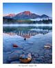 Sunrise Mt. Pyramid  Jasper Alberta _A040515
