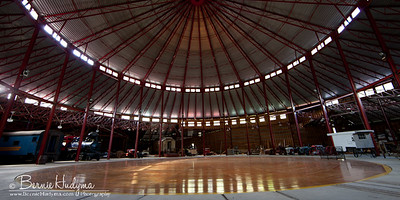 Inside the roundhouse at Three Valley Gap BC A051316